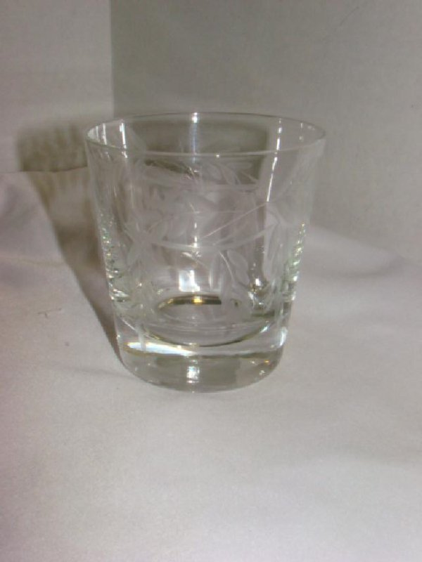 SET OF 12 CRYSTAL JUICE GLASSES - 3