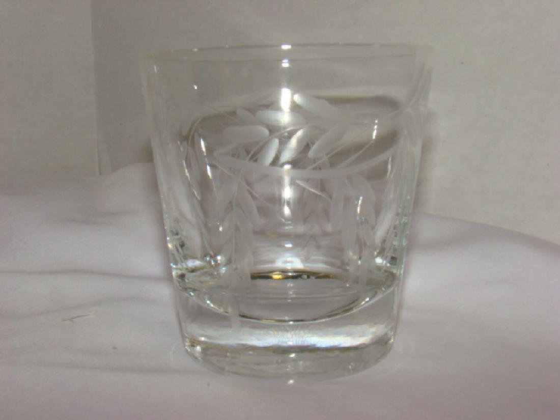 SET OF 12 CRYSTAL JUICE GLASSES - 4