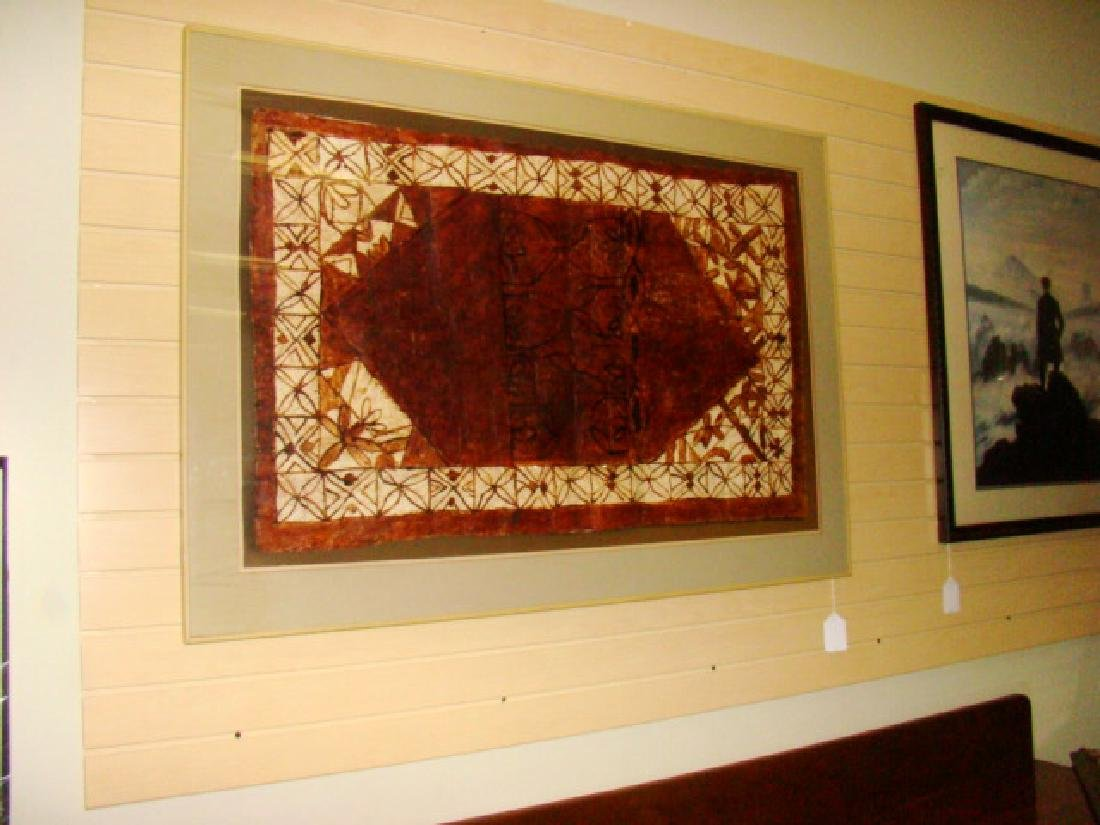 FRAMED BATIK TAPESTRY ART - 2