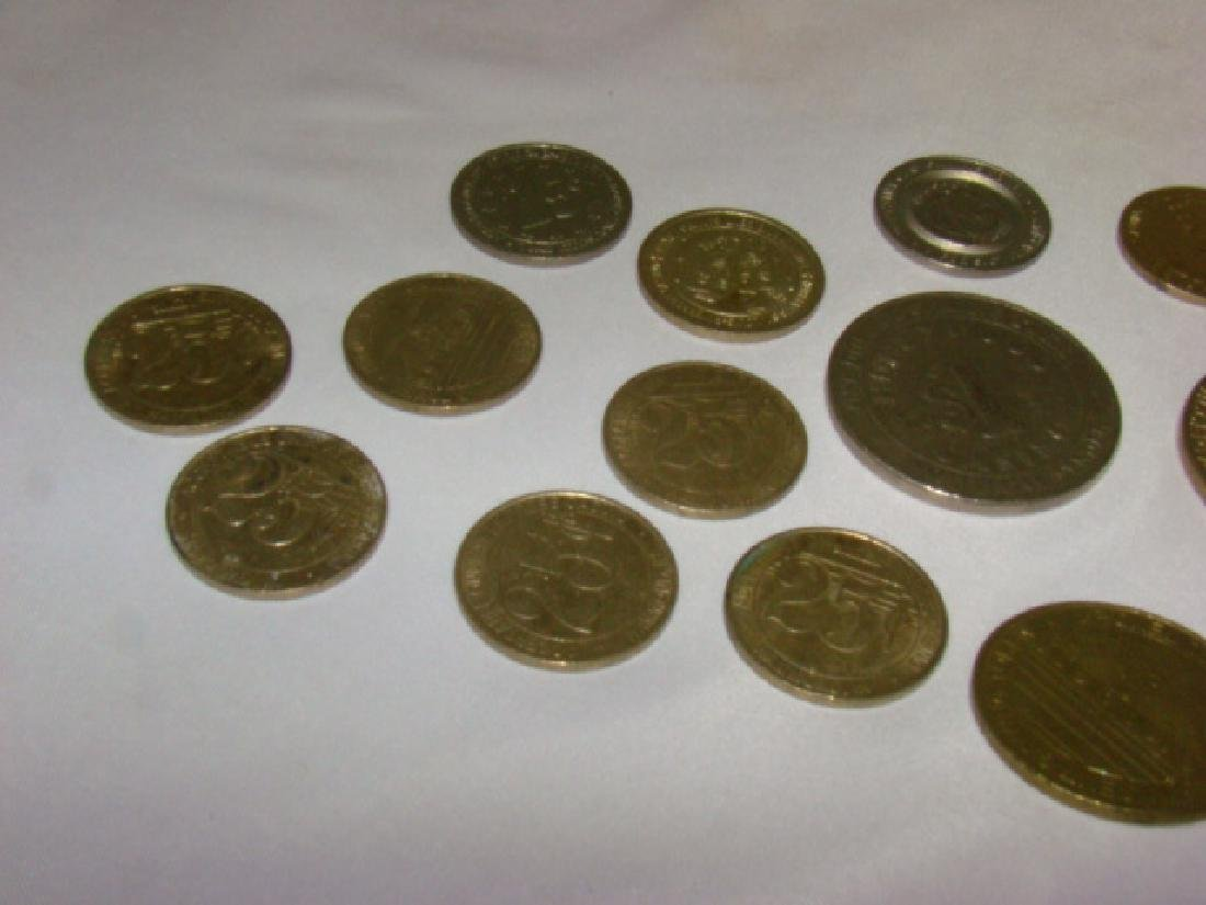 CASINO AND GAMING TOKENS - 3