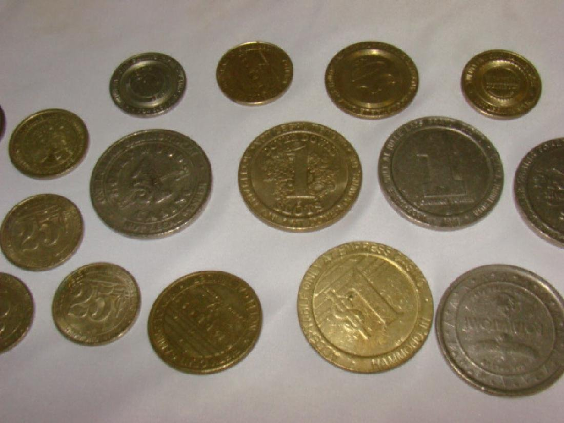 CASINO AND GAMING TOKENS - 4