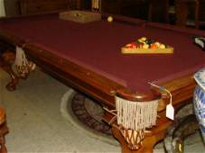 BILLIARDS TABLE BY PETER VITALIE COMPANY & MORE