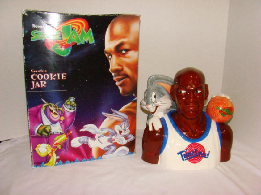 SPACE JAM CERAMIC COOKIE JAR
