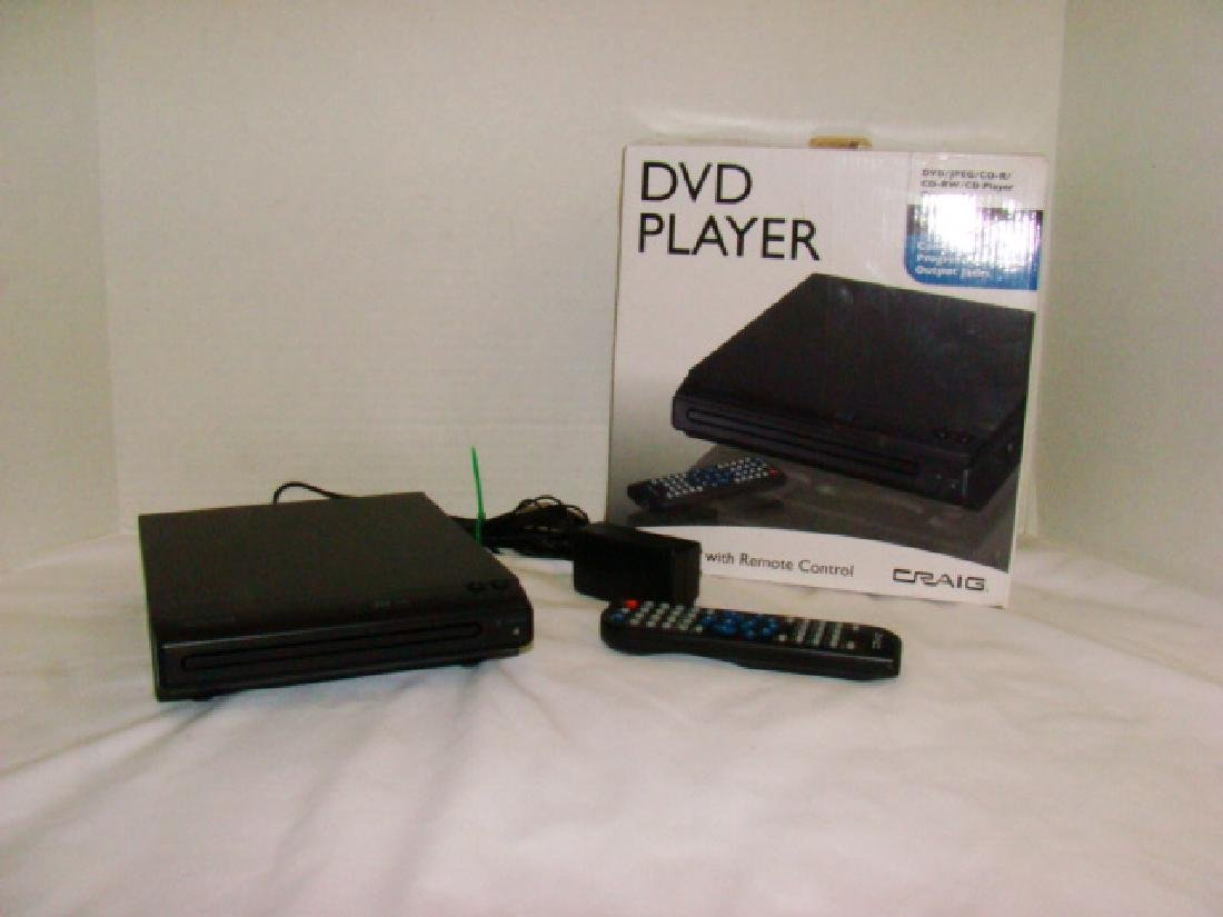 CRAIG DVD PLAYER WITH BOX
