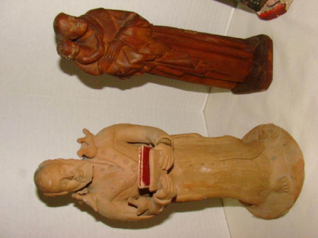 VARIOUS RELIGIOUS FIGURINES - 2