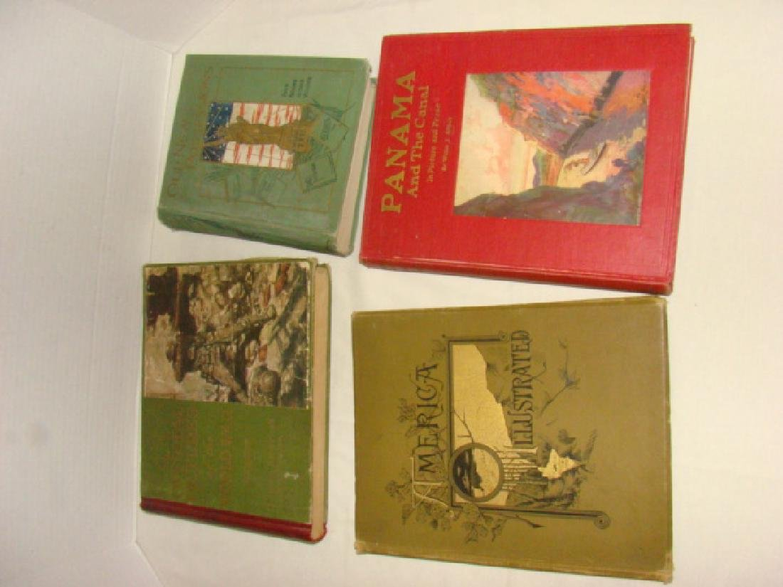 4 ANTIQUE BOOKS-HISTORY AND WAR