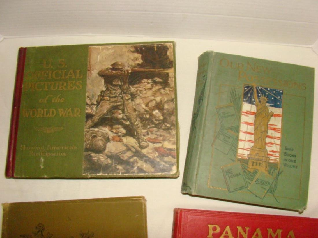 4 ANTIQUE BOOKS-HISTORY AND WAR - 2