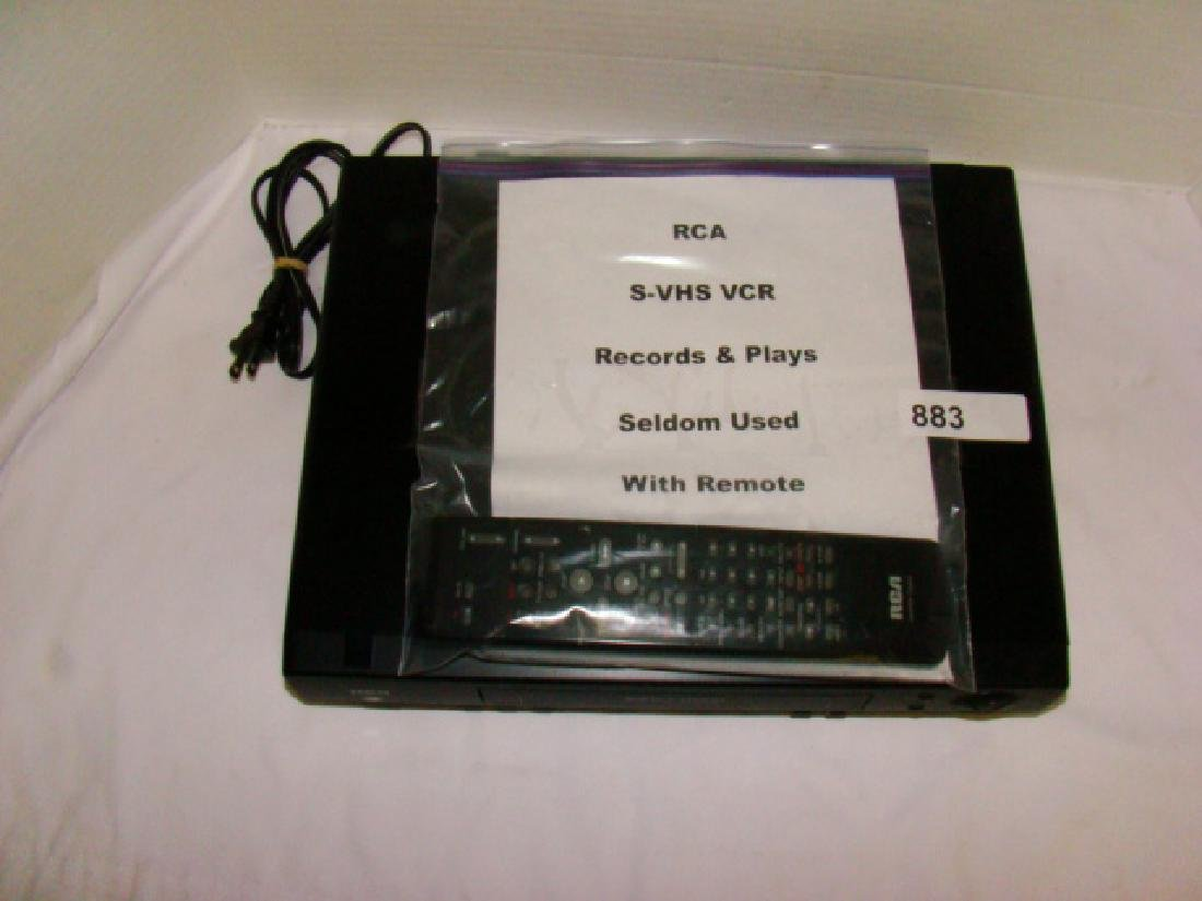 RCA VHS PLAYER WITH REMOTE - 2