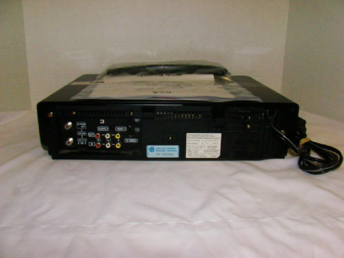 RCA VHS PLAYER WITH REMOTE - 3