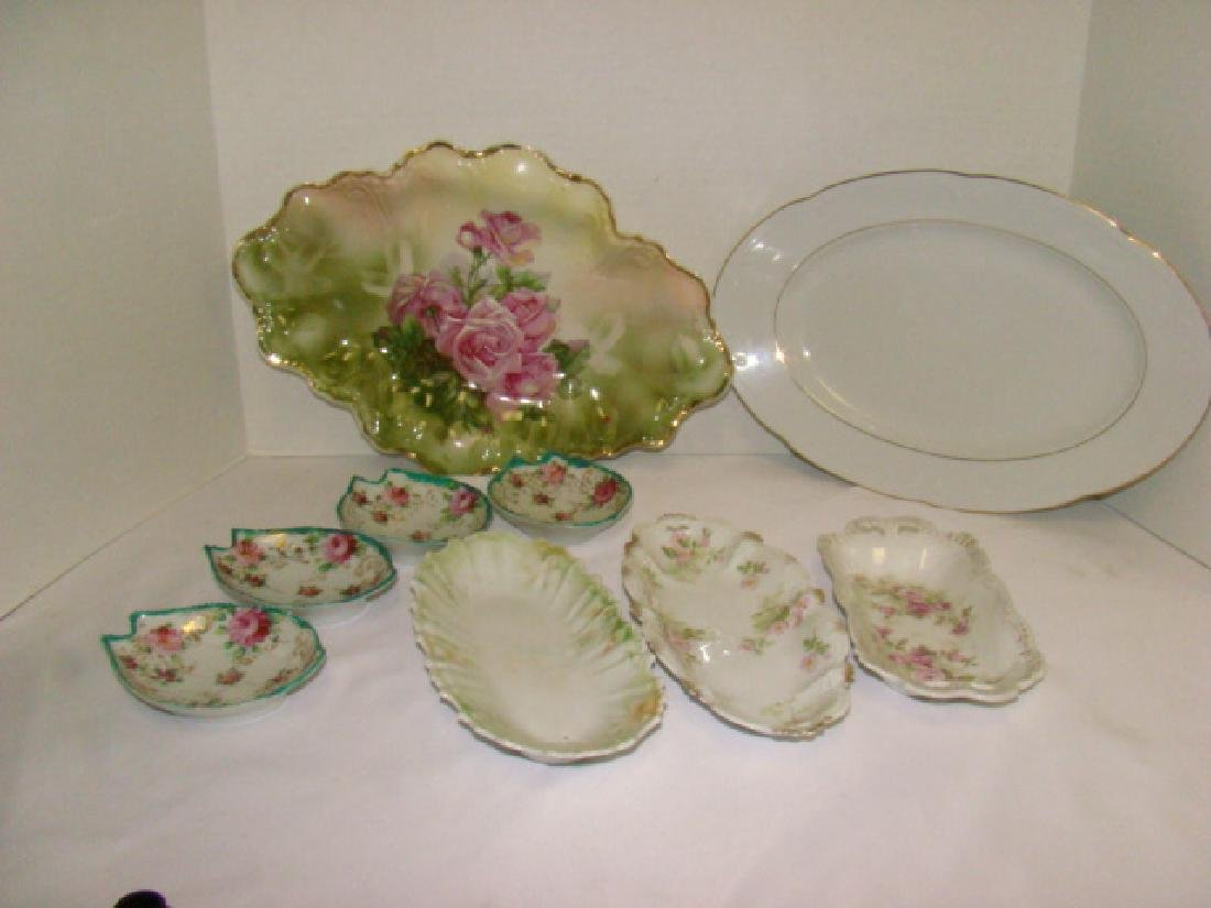 VARIOUS CHINA SERVING DISHES
