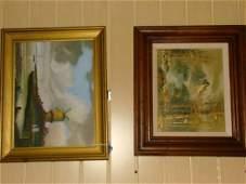 2 ORIGINAL ARTWORKS