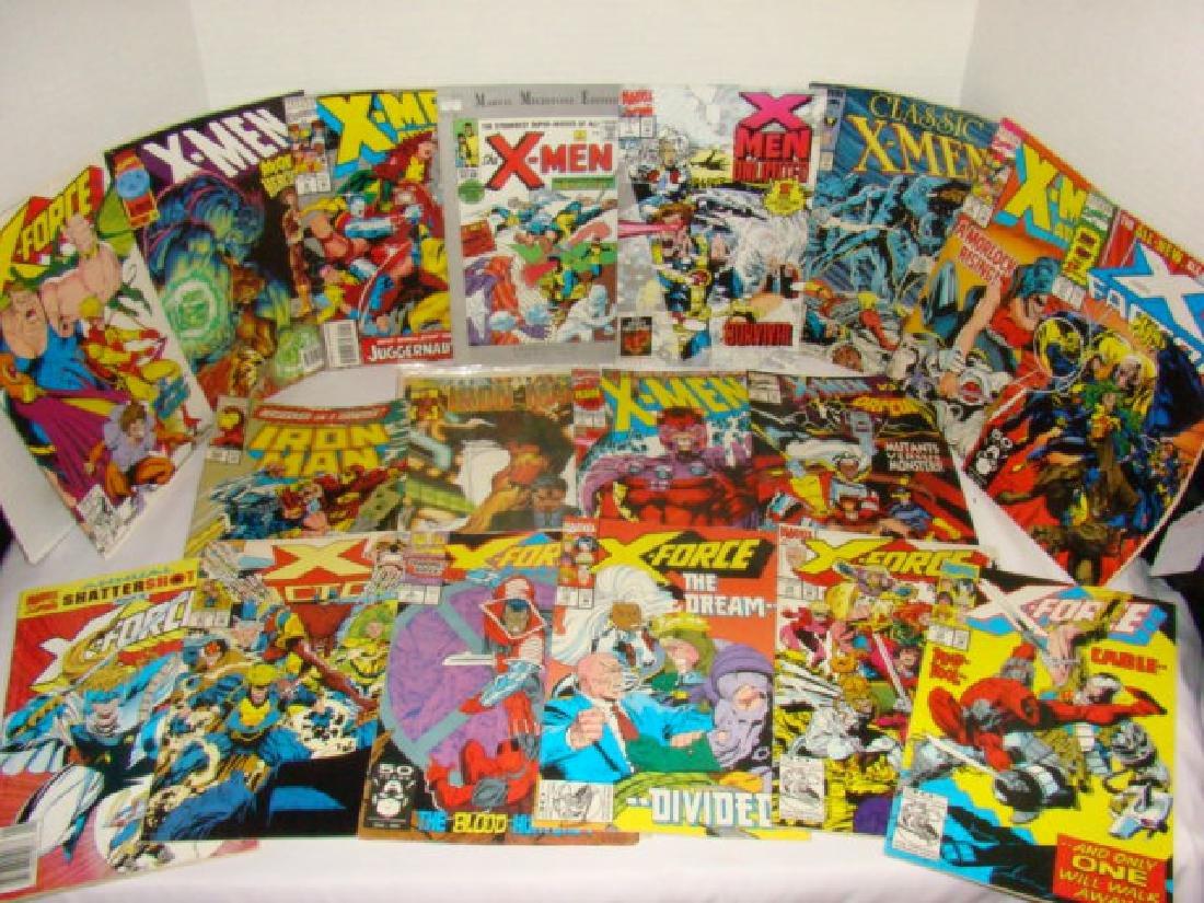MARVEL COMICS- AVENGERS- X-MEN-X-FORCE & MORE