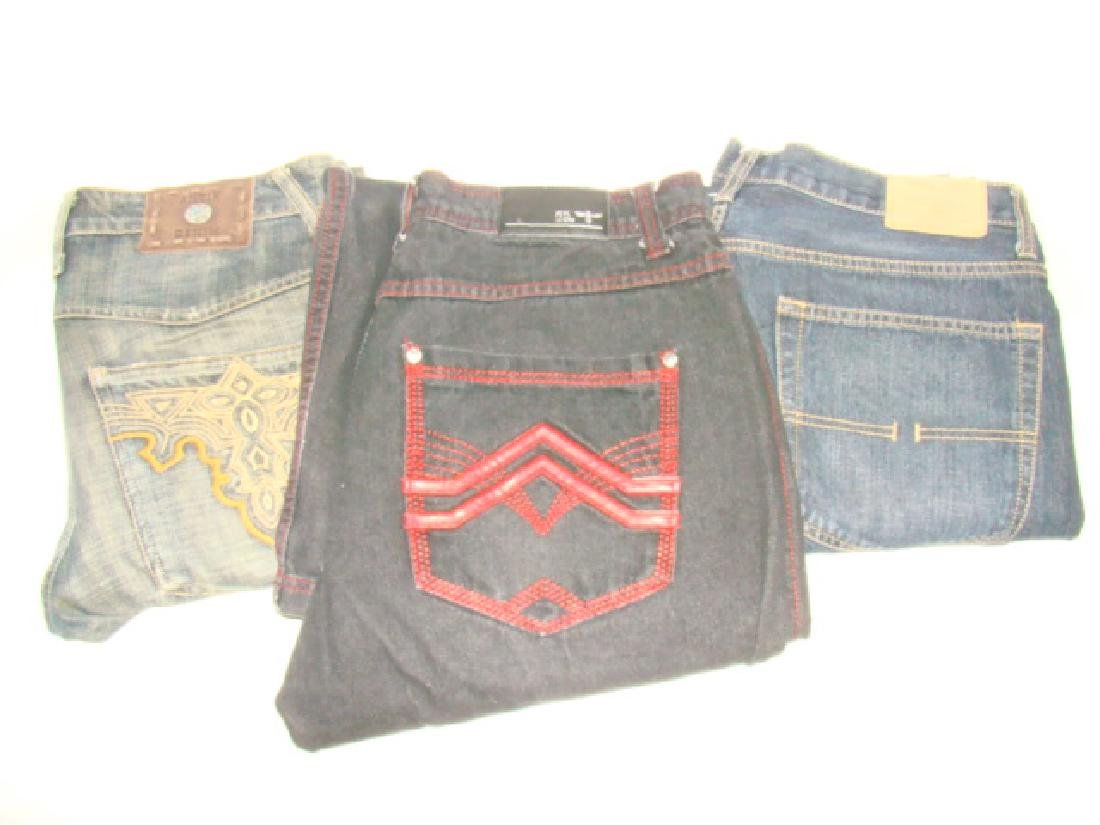 9 PAIRS OF MEN'S JEANS - 2