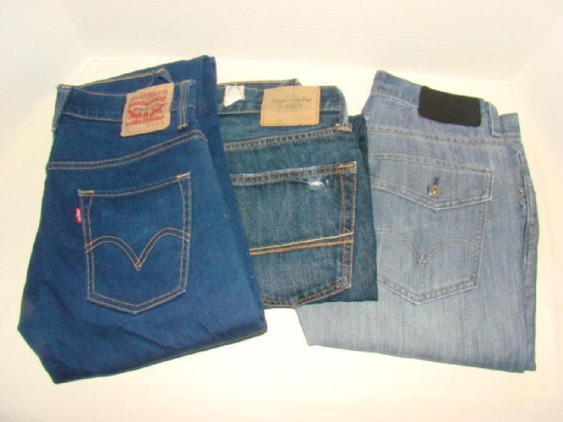 9 PAIRS OF MEN'S JEANS - 3