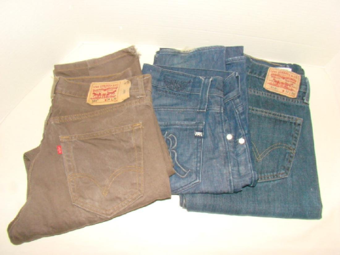 9 PAIRS OF MEN'S JEANS - 4