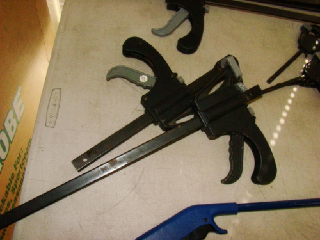 VARIOUS TABLE CLAMPS, SQUARES AND MORE - 4