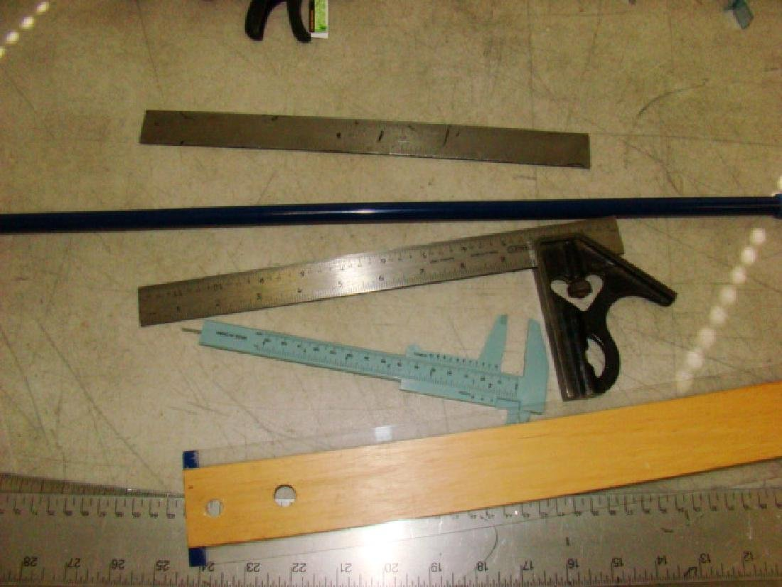VARIOUS TABLE CLAMPS, SQUARES AND MORE - 6