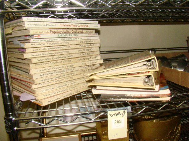 VINTAGE AND NEWER COOKBOOKS
