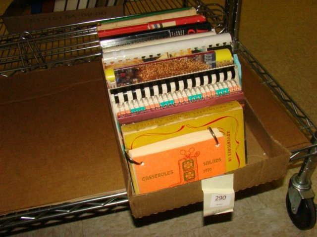 VINTAGE TRADITIONAL COOKBOOKS - BOX FULL