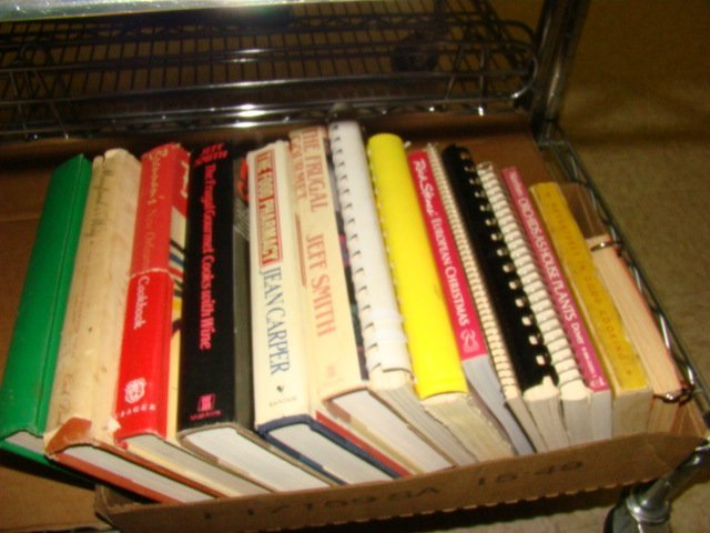 VINTAGE TRADITIONAL COOKBOOKS - BOX FULL - 2