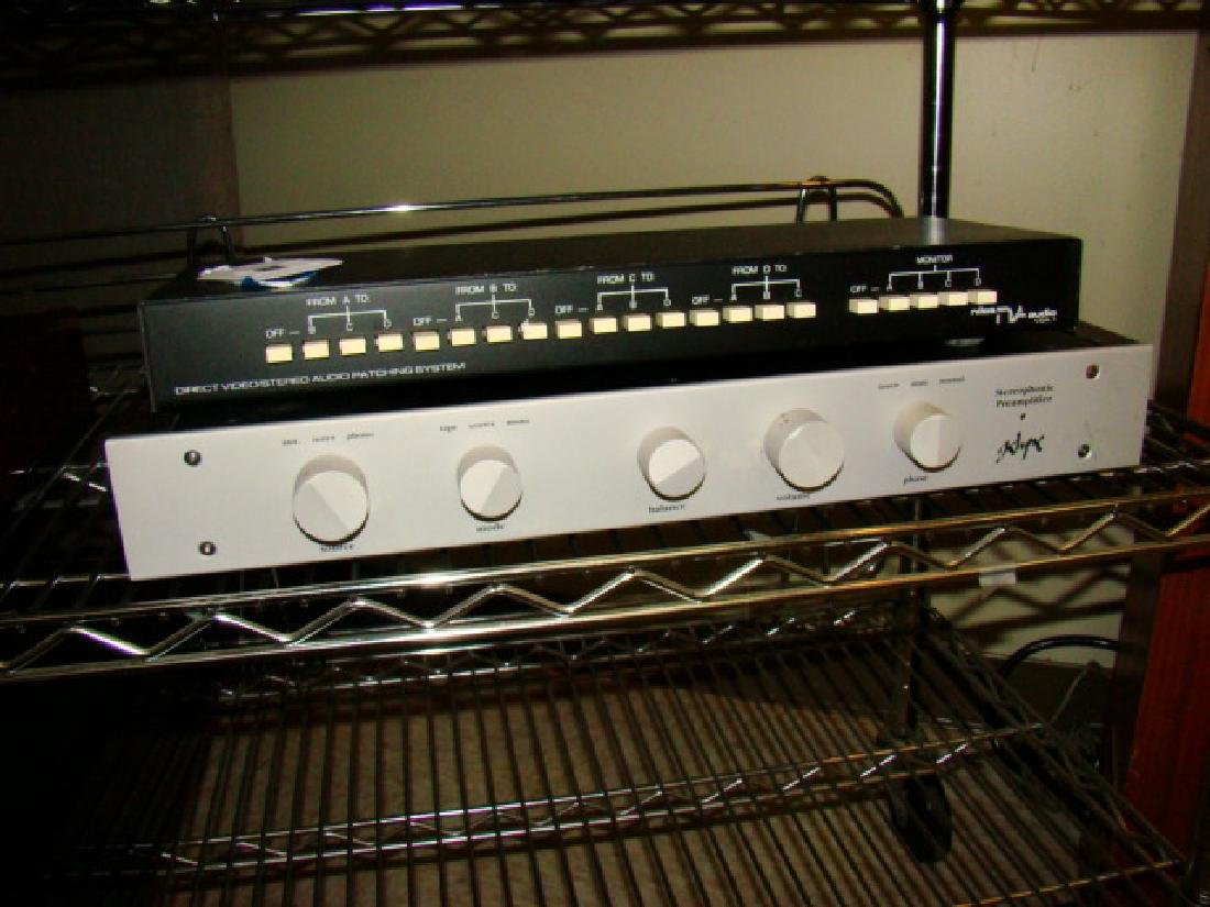 STEREOPHONIC PRE-AMPLIFIER KLYNE-NILES AUDIO PATCH