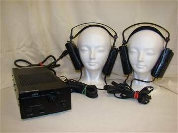 VINTAGE STAX SRM-1/MK-2 PRO WITH 2 PAIRS OF SR EAR