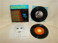 4 VINTAGE COLLECTOR 45 RPM RECORDS