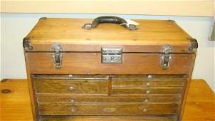 ANTIQUE DRAFTSMAN TOOL BOX