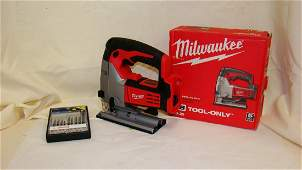 PREOWNED MILWAUKEE  264520 CORDLESS JIG SAW  NO