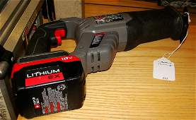PORTER CABLE  PC1800RS CORDLESS SAWZALL