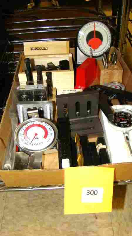 MILLING MACHINIST RELATED ITEMS WITH GUAGES