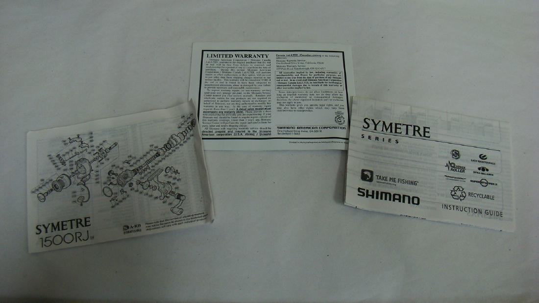 FISHING REEL- SHIMANO SYMETRE 1500RJ - 2