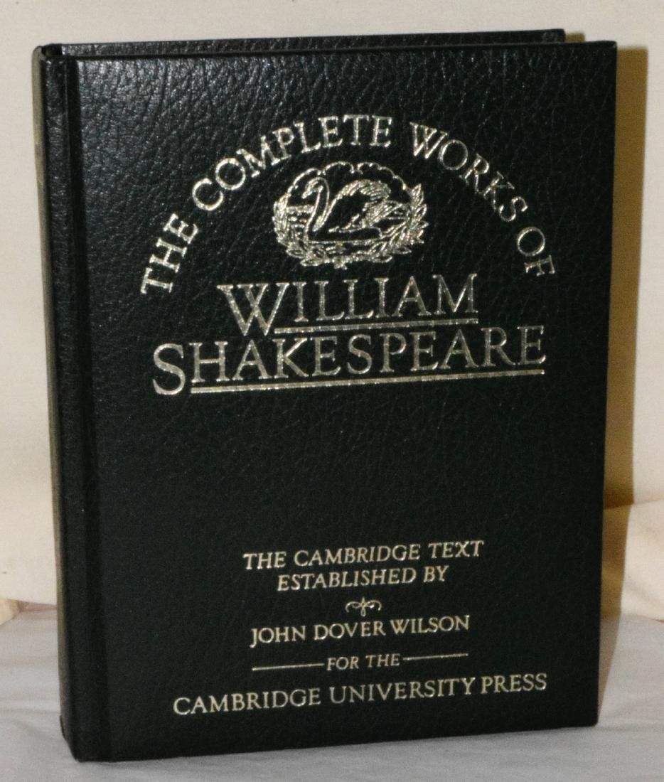 THE COMPLETE WORKS OF WILLIAM SHAKESPEARE - CAMBRI