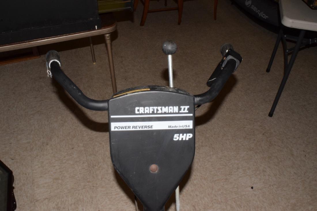 CRAFTSMAN 5 HP ROTOTILLER - 4
