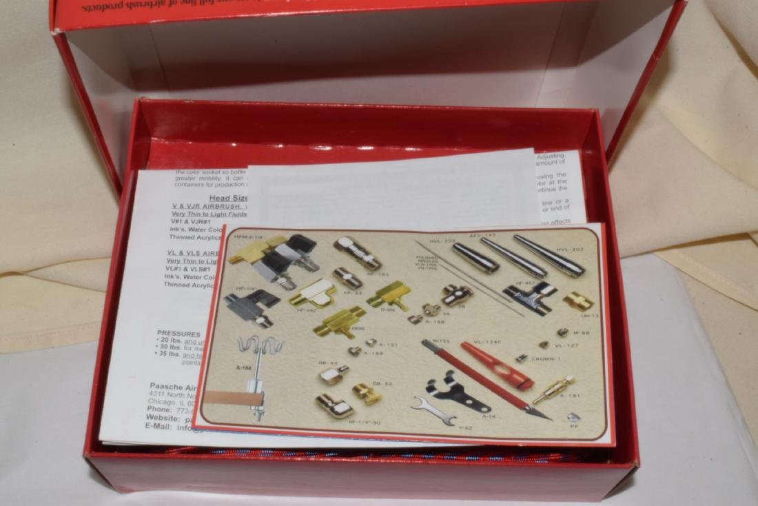 NEW AND OLD MODEL AIRBRUSH SETS - 5