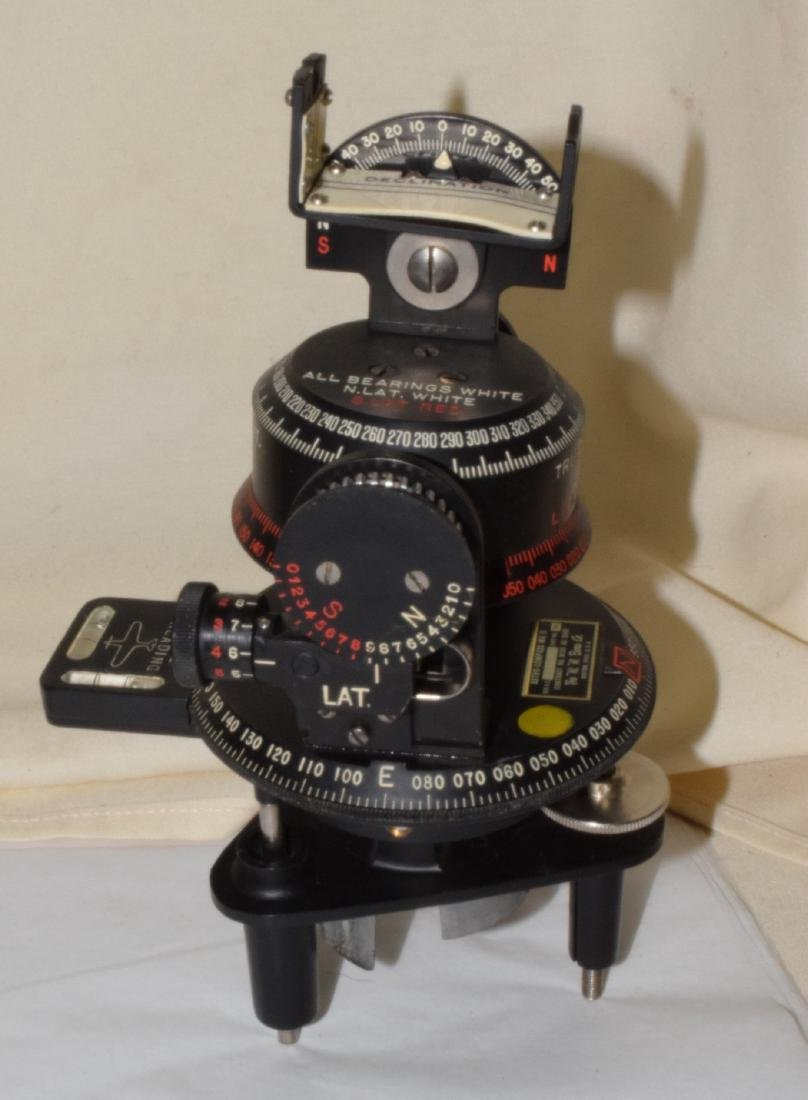 ANTIQUE ASTRO-COMPASS MK II - 3