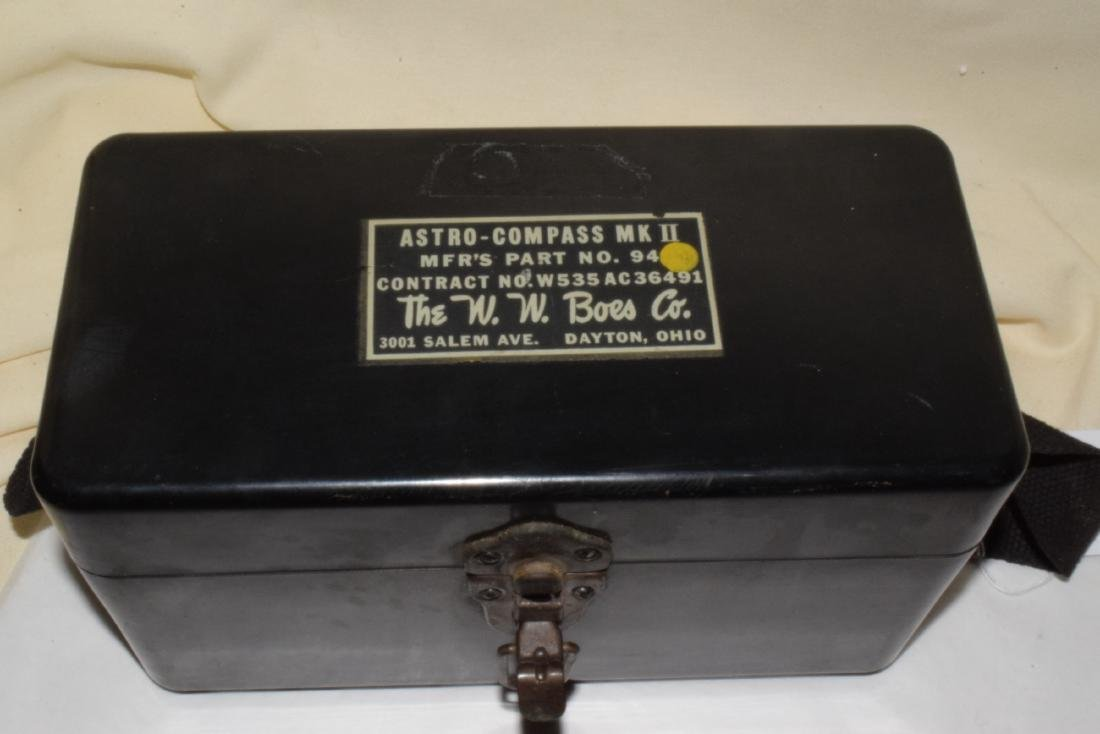ANTIQUE ASTRO-COMPASS MK II - 4