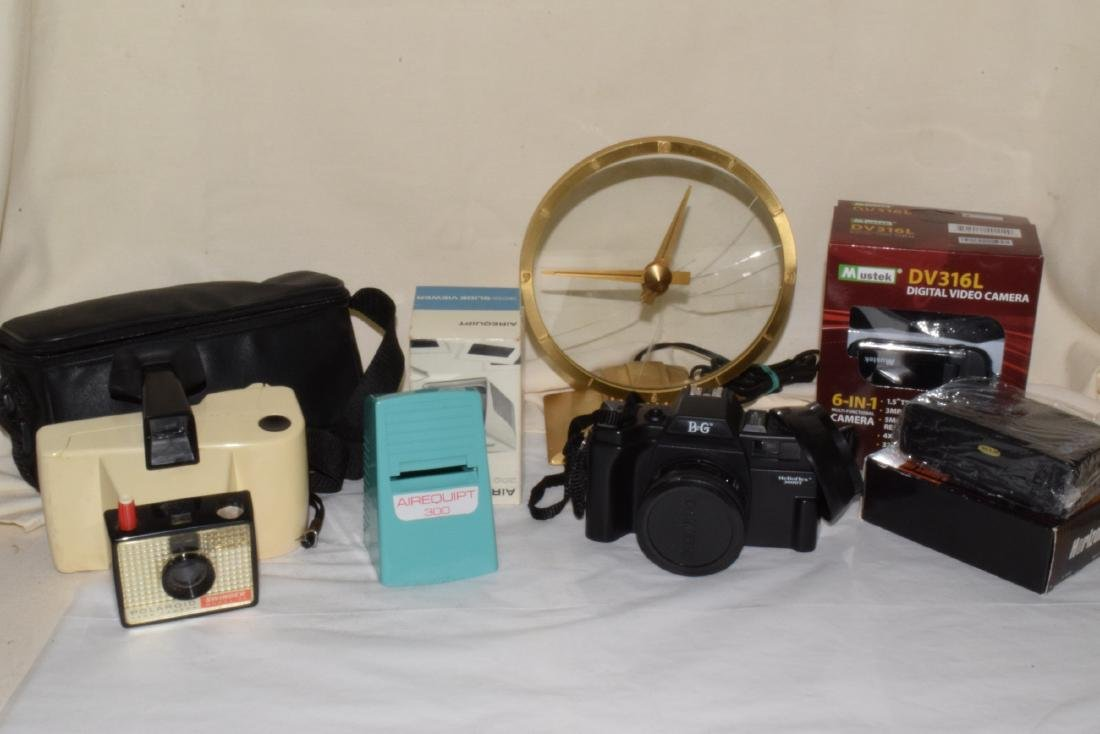 VINTAGE CAMERA ITEMS & MORE