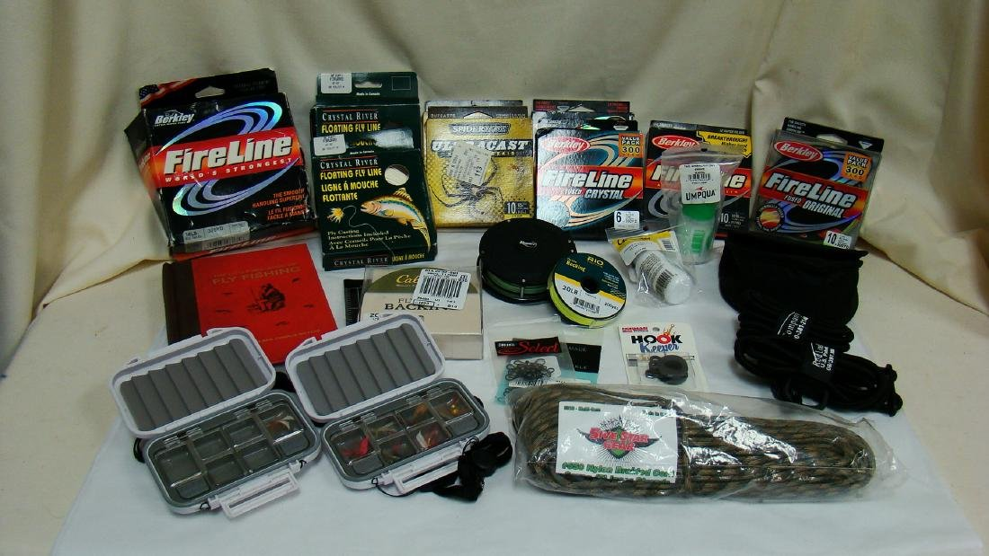 FISHING LINE, LURES &  OTHER ACCESSORIES