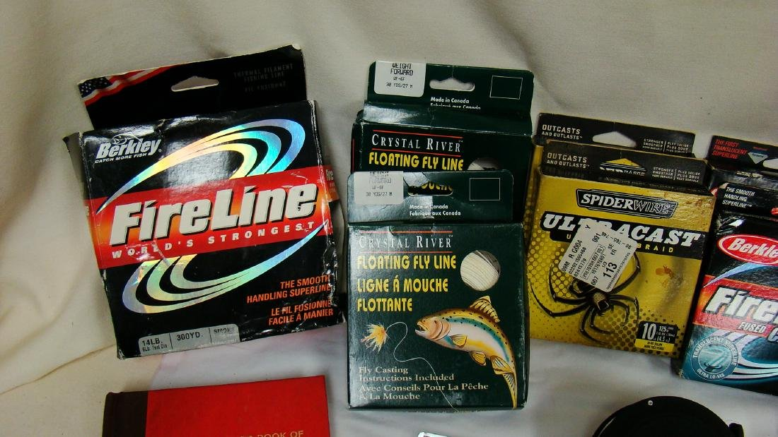 FISHING LINE, LURES &  OTHER ACCESSORIES - 2