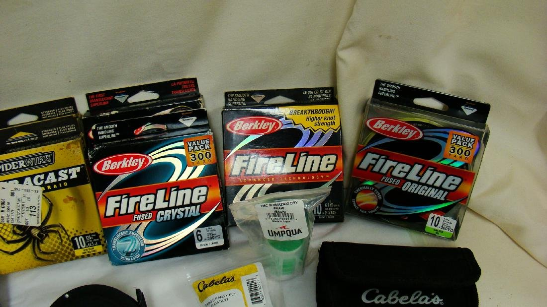 FISHING LINE, LURES &  OTHER ACCESSORIES - 3