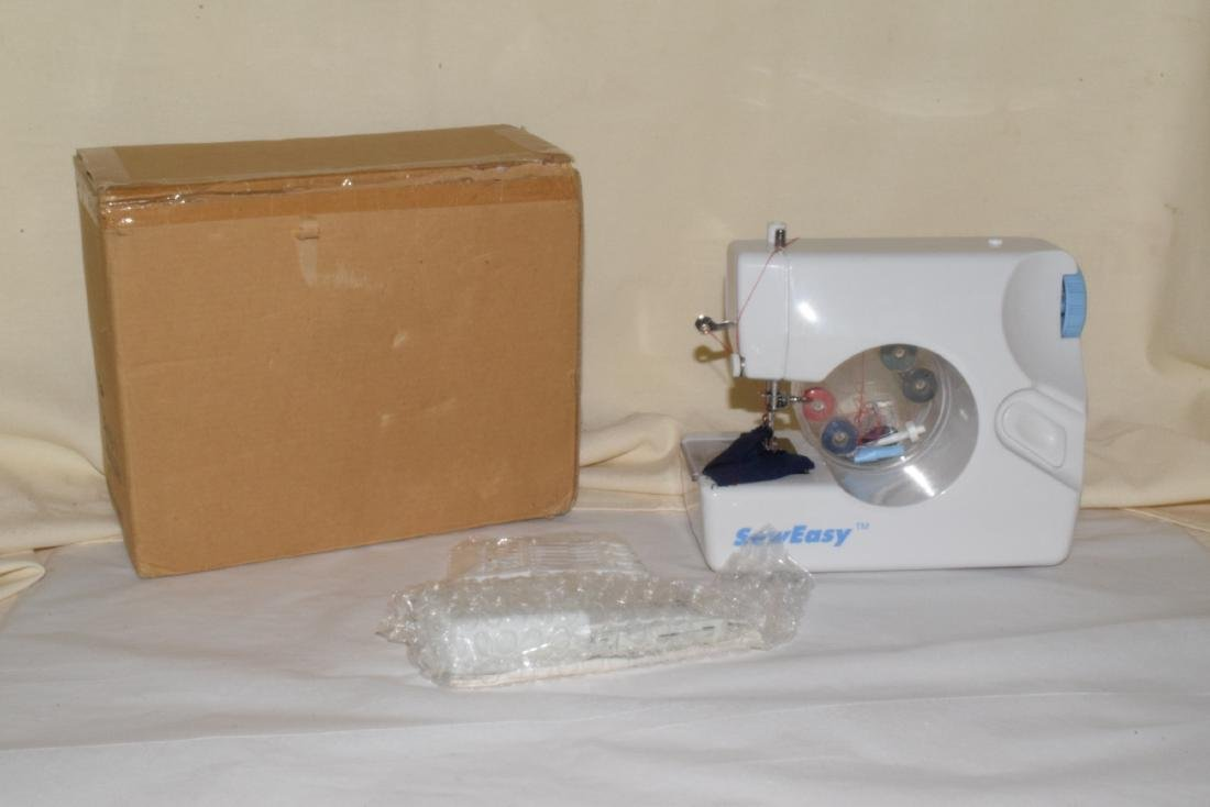 SEW EASY SEWING MACHINE & BUTTON MATE