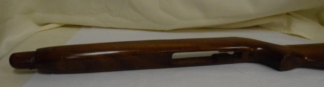 WOOD RIFLE STOCK FOR BOLT ACTION RIFLE - 4