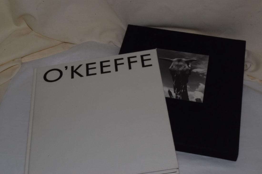3 GEORGIA O'KEEFFE COFFEE TABLE BOOKS - 4