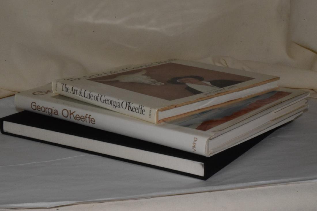 3 GEORGIA O'KEEFFE COFFEE TABLE BOOKS - 5