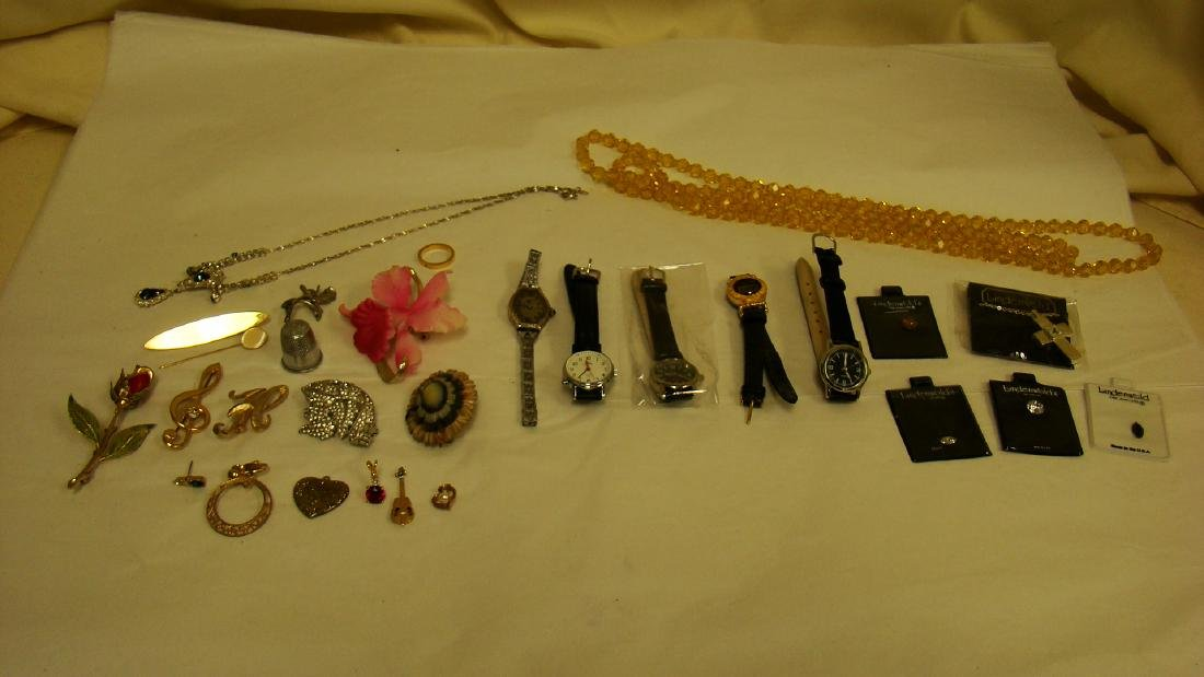 COSTUME JEWELRY, WATCHES & MORE