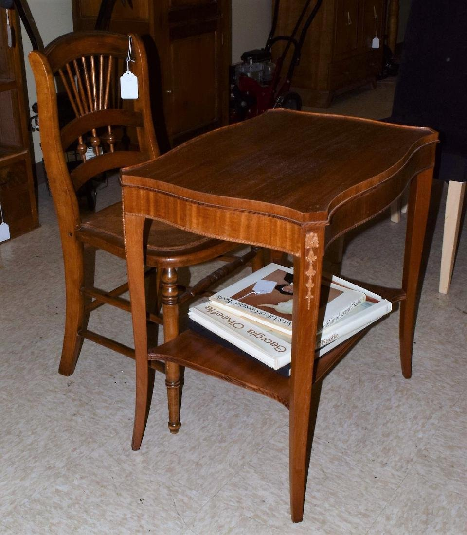 ENTRY TABLE & CHAIR