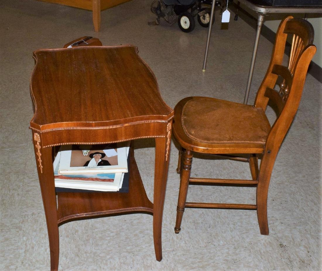 ENTRY TABLE & CHAIR - 6