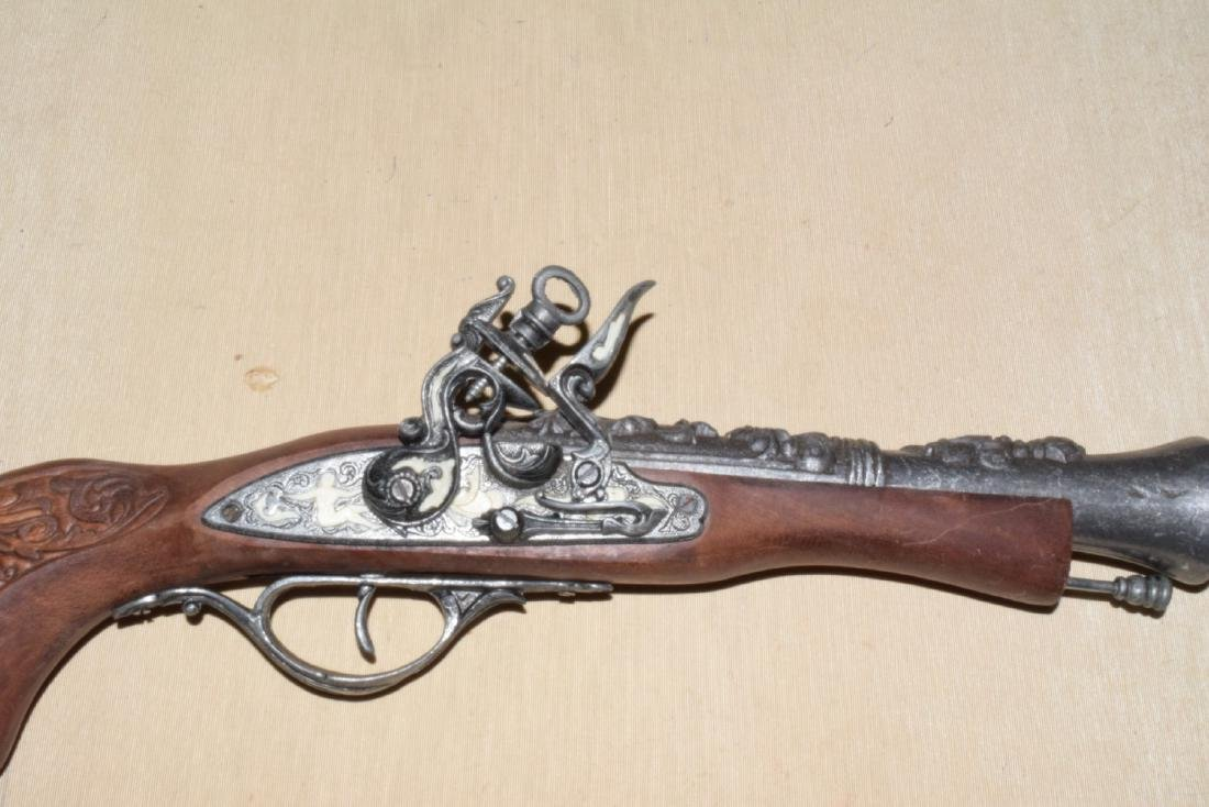 MATCHING DECORATIVE DUELING FLINTLOCKS - 3