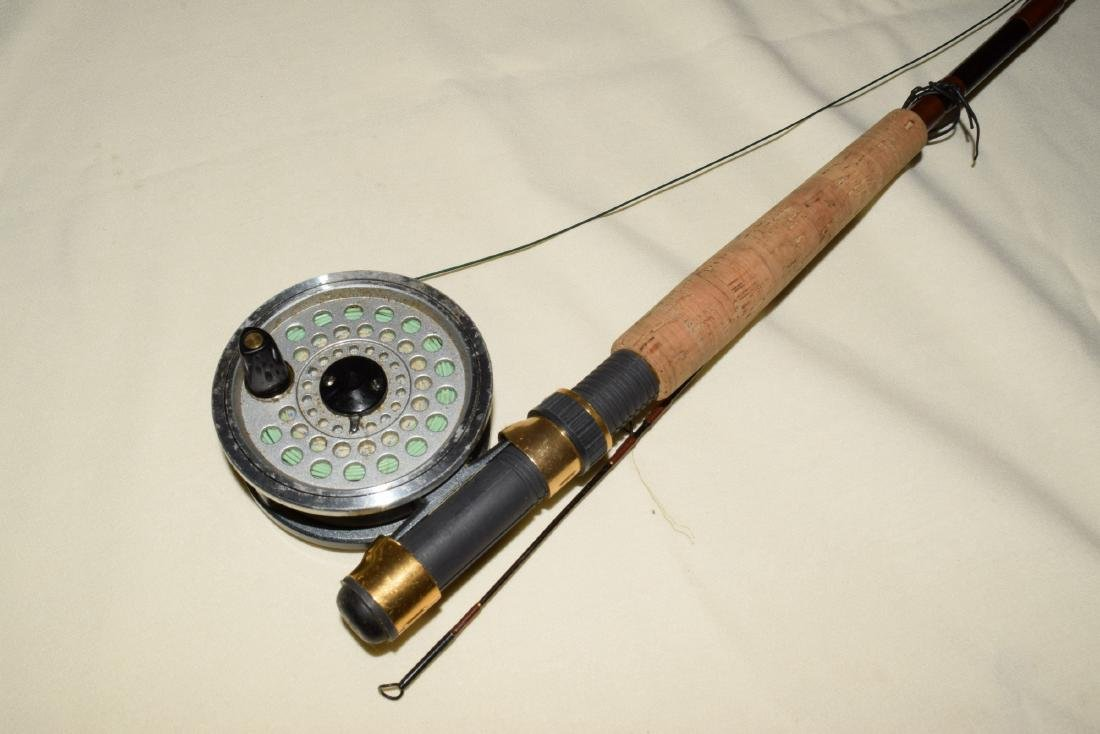 2 FISHING POLES WITH REELS - 3